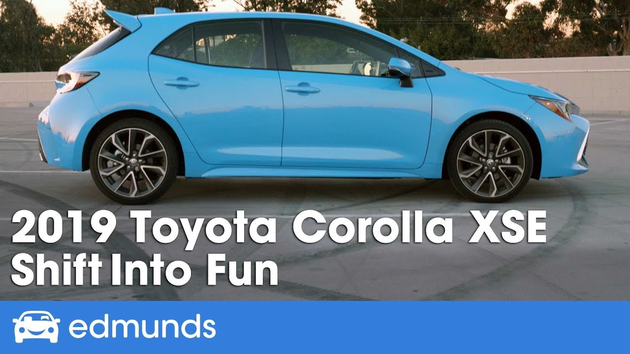 2019 Toyota Corolla Hatchback Xse Review Shift Into Fun Edmunds
