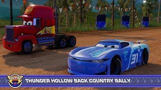 Disney PIXAR Cars 3 Cam Spinner Vs Mack Hauler Truck & Lightning McQueen | Driven to Win