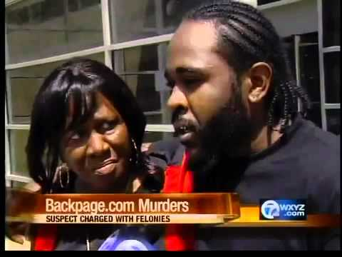 Backpage Com Detroit >> Suspect charged in backpage.com escort murders - YouTube