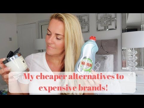 My cheaper alternatives to expensive brands (cleaning products) toni interior