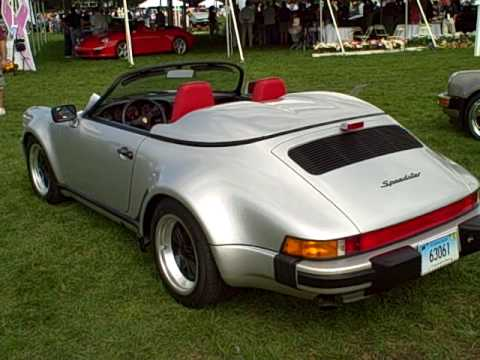 1989 Porsche Speedster Youtube
