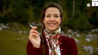 Alexandra Neldel smoking cigarette