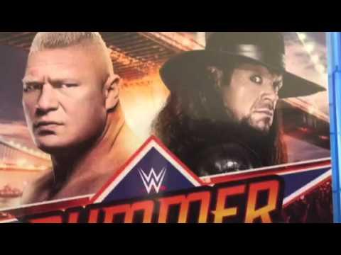 WWE Summerslam 2015 BluRay