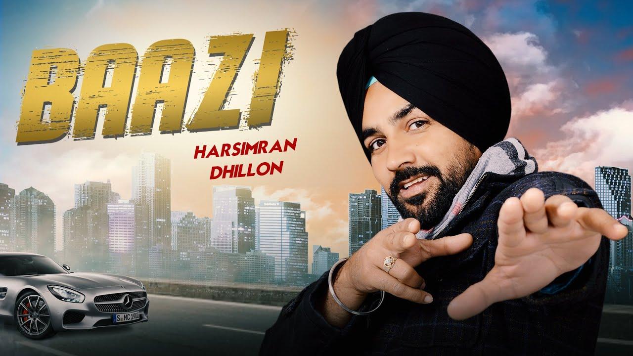 Download Baazi | Lyrical video | Harsimran Dhillon | New Punjabi Song 2021 | Japas Music