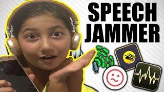 KONUŞ KONUŞABİLİRSEN SpeechJammer Oynadım 2019 (Eğlenceli Çocuk Videoları)