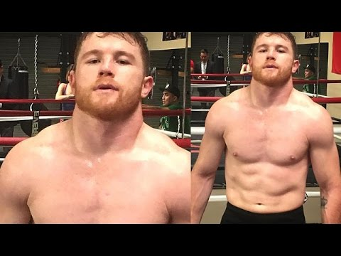 Image result for canelo jacked