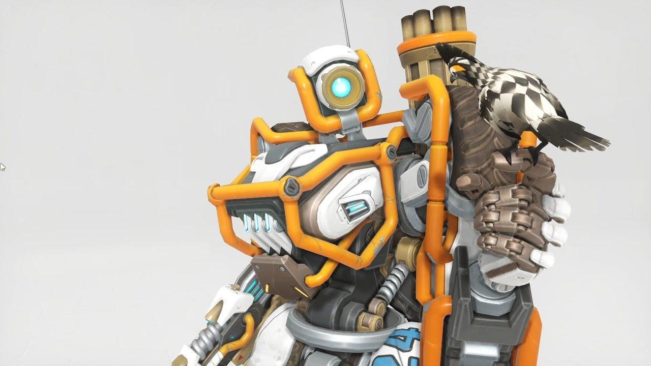 Bastion Dune Buggy Overwatch Anniversary Skin