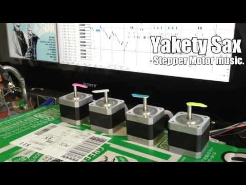 Yakety Sax - Stepper Motor music