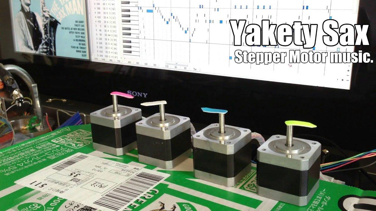 Yakety Sax - Stepper Motor music