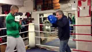 Nevin At Northolt Boxing Club