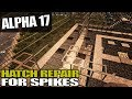 ALPHA 17 HATCH REPAIR FOR SPIKES 7 Days To Die Alpha 17 Gameplay S17 3E37 mp3