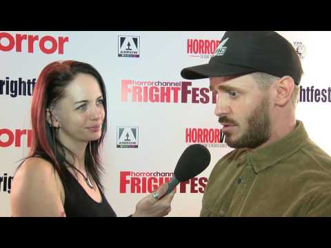 FrightFest 2016 - Martin Owen, Elliot James Langridge and Isabelle Allen On The Red Carpet