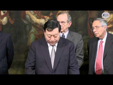 Italia Cina cessione da parte di Cassa depositi e prestiti alla State Grid Corporation of China