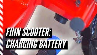 Charging a Finn Scooter