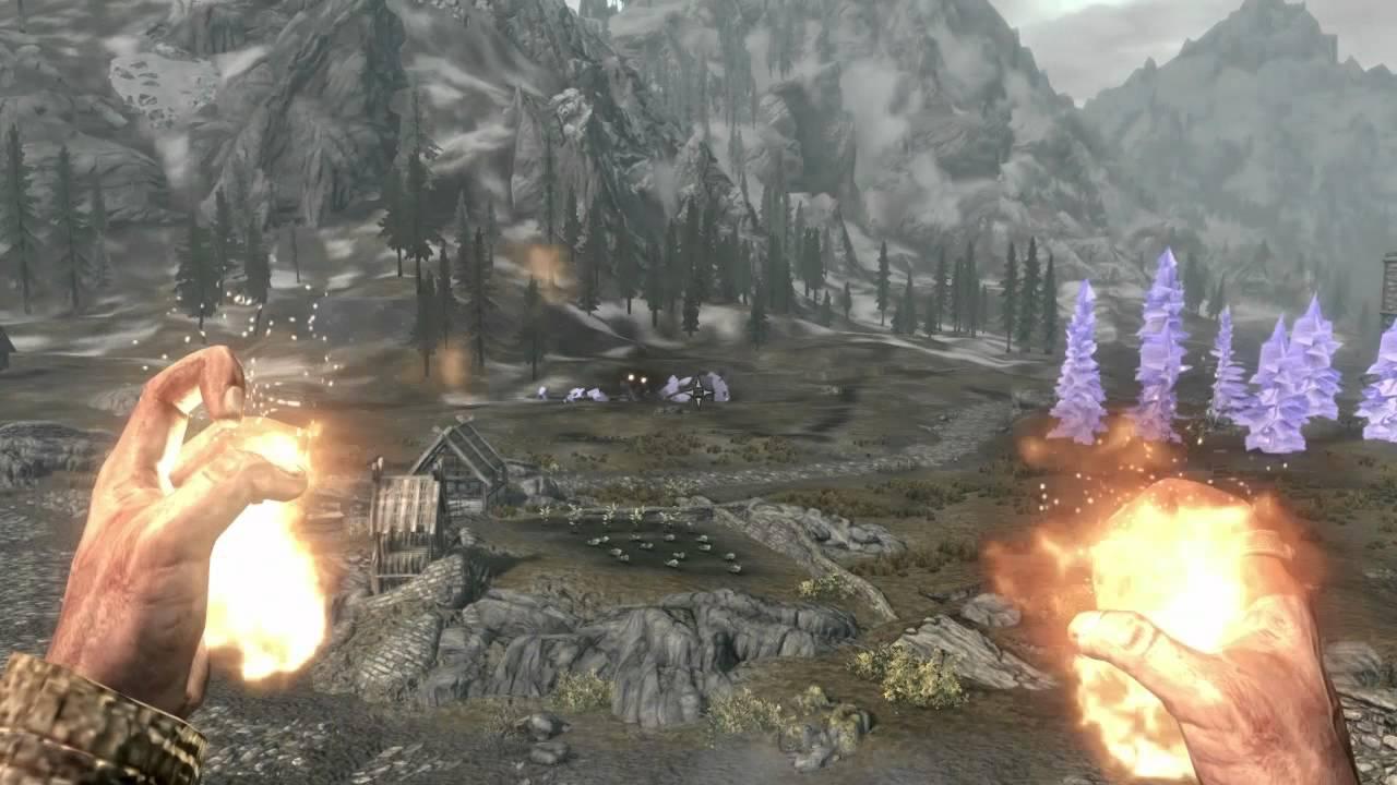 Skyrim - Purple Tree Bug