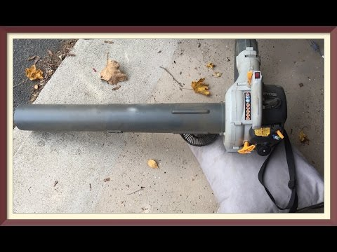 Ryobi 40v Jet Blower Ry40411 Unboxing And Review Doovi