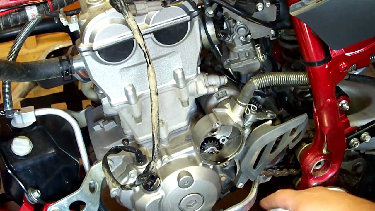 maxresdefault yfz 450 stator video youtube 2006 yfz450 wiring harness at bayanpartner.co