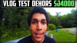Vlog Test SJ4000 | Promenade dans les Bois et sur le Bord de L