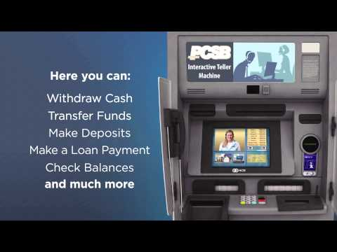 PCSB Bank Interactive Teller Machine (ITM)