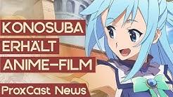 Konosuba erhält einen Film – JoJo's Bizarre Adventure kehrt zurück | Anime-News #57