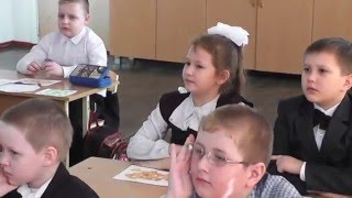 Урок окружающего мира в 1 классе  ФГОС  Учитель Громакова М В