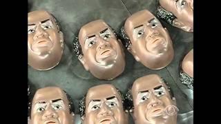 Fábrica de São Gonçalo faz máscara em homenagem ao ministro Joaquim Barbosa
