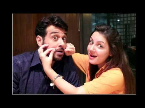 Nauman ijaz with his wife | Shaadi | Celebrities ...