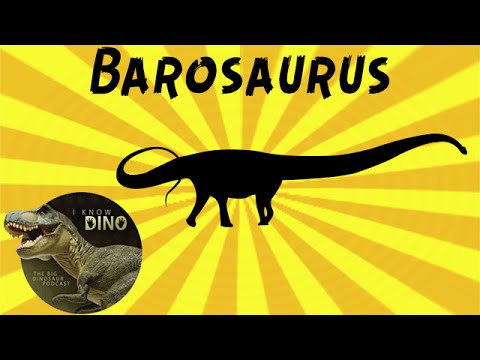 Barosaurus: Dinosaur of the Day