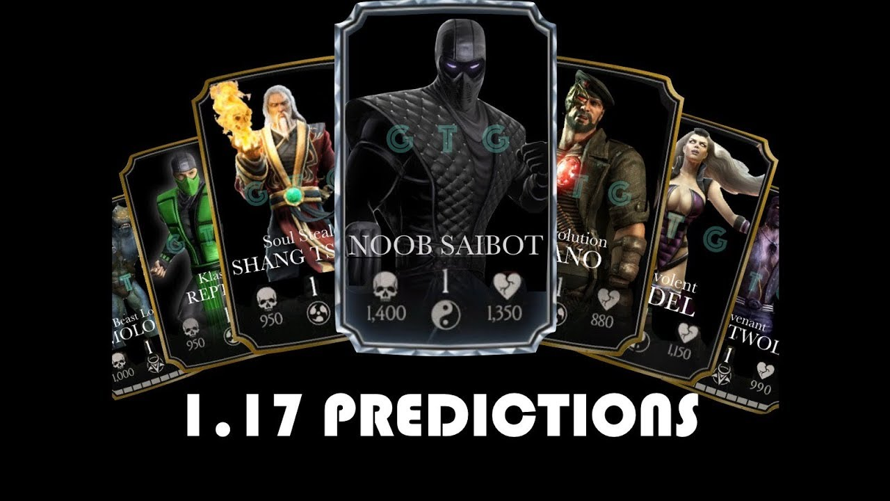 mkx mobile character predictions youtube. Black Bedroom Furniture Sets. Home Design Ideas