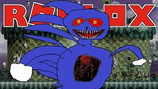 EVIL SANIC IS AFTER US   Roblox Adventures - Roblox Gameplay