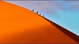 Duin 45 , dune 45 ,Sossusvlei Namibie Duin 45, dune 45, 360° panorama