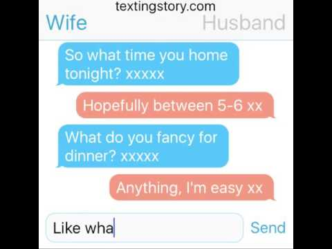 Comical Husband & Wife Text Conversation - Very Funny Text Message Fails  Video