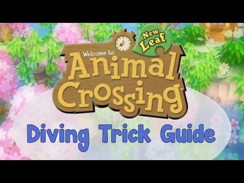 How to Get Public Works Projects Suggestions in Animal Crossing: New Leaf (Diving Trick Guide)