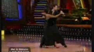 melanie b and helio tango danceoff