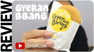 Cover images Gyeran Bbang, Roti Telor Korea, Korean Egg Bread