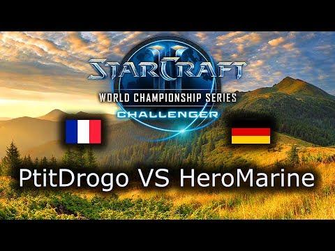 PtitDrogo VS HeroMarine - WCS Challenger Spring 2019 Group D - polski komentarz