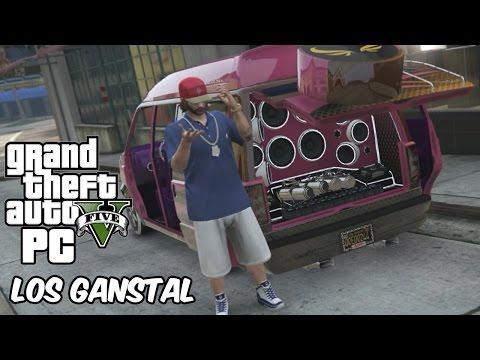 LOS GANSTAL! GTA V Low Riders DLC en Español - GOTH