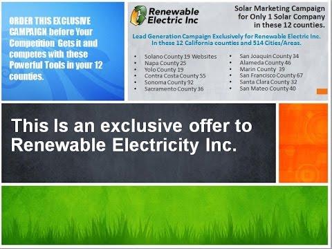 RENEWABLE ELECTRIC Inc