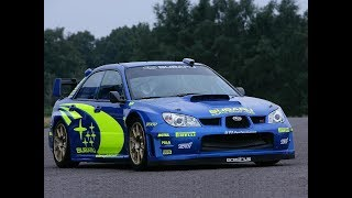SUBARU IMPREZA WRC RALLY TRIBUTE