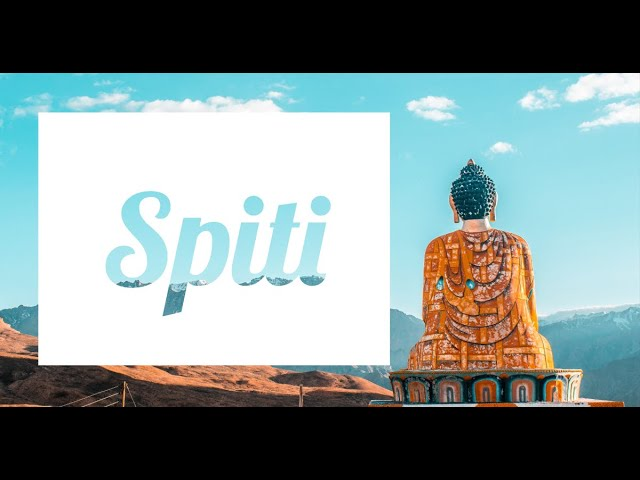 Spiti - A God's Eye Story | Spiti Valley | Himachal Pradesh | Drone Shots | Road Trip | Chandratal