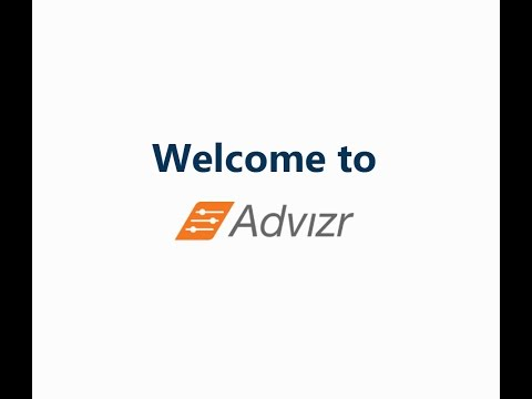 Quick Demo of Advizr Financial Planning Software