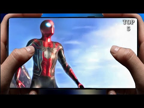 TOP 5 MARVEL SPIDERMAN GAMES FOR ANDROID | HIGH GRAPHICS 2020