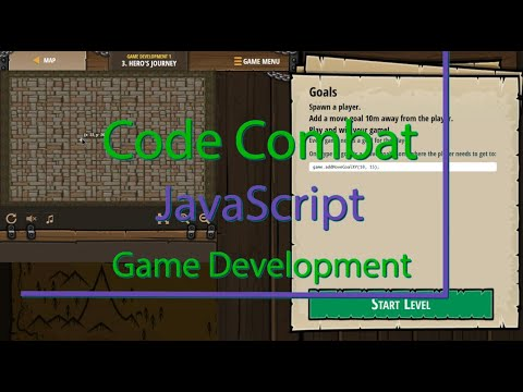 CodeCombat Hero's Journey Level 3 - Game Development Tutorial with Answers in JavaScript thumbnail