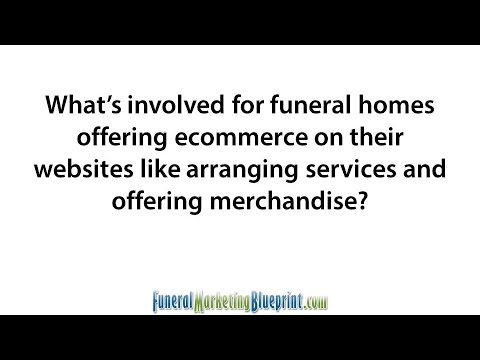 Funeral Home Ecommerce | Cremation Arrangement Websites