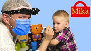 История о том как Мика не хочет лечить зубы у врача