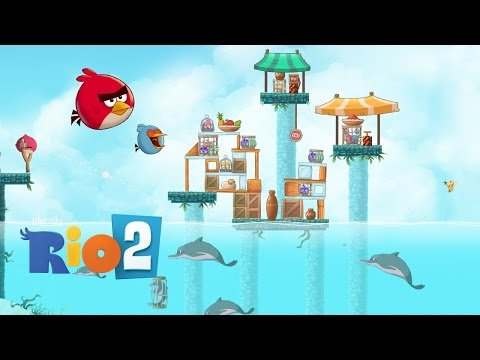 Angry Birds Rio 2 Part 1 - Kids Games Gameplay by GAMES FOR KIDS