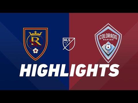 Real Salt Lake vs. Colorado Rapids | HIGHLIGHTS - August 24, 2019