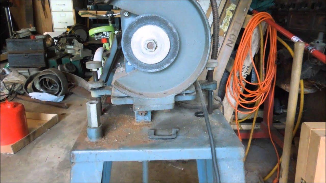 Estate Sale Finds – MTD Wood Chipper Shredder – Pt 3 Sharpening The Blades  by Old Sneelock's Works