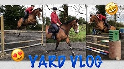 YARD VLOG // jumping over 1:30m