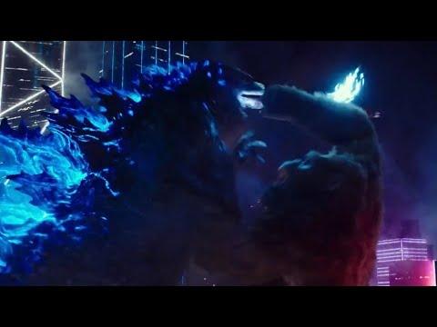 Godzilla Vs. Kong (2021) Clip: Hong Kong Battle/Eat Your Vegetables